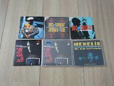 Lot 6 Single CD MC Solaar, Ménélik et La Tribu, Jimmy Jay