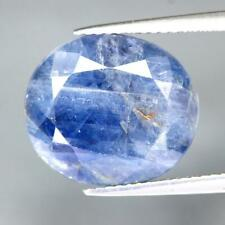 Certificate Include 13.68Cts Natural Blue Sapphire Oval Unheated Loose Gemstone