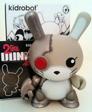 "DUNNY 3"" 2TONE CHUCKBOY CYBORG KIDROBOT 2010 COLLECTIBLE DESIGNER TOY FIGURE"