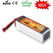 FLOUREON 6S 22.2V 45C LiPo 5000mAh Dean Plug Akku Batterie für RC Auto LKW Hobby
