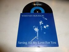 Whitney Houston - Saving All My Love For You - 1985 Gb 2-track 17.8cm Vinyl