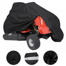 Deluxe Riding Lawn Mower Tractor Cover UV Waterproof Garden Fit Decks up to 72""