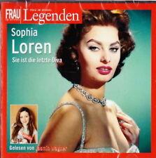 Sophia Loren - Legenden - Sie ist die letze Diva - Nörbuch   2CD NEU OVP