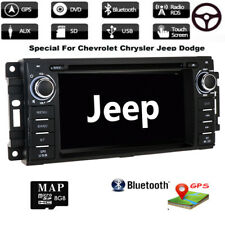 Car Stereo Radio DVD Player GPS Navigation for Jeep Wrangler Unlimited 2008-2016