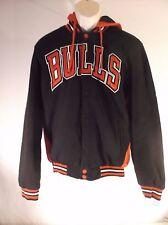 JH Design - NBA Reversible Jacket with Hood - Chicago Bulls - XL