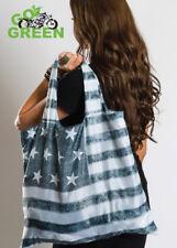 Hair Glove® Eco-Friendly Tote Bag Vintage USA Flag 45001 Reusable Lightweight