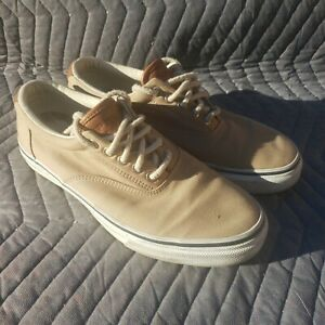 Sperry Top-Sider Men's KHAKI STS10859 Size 9 1/2 M Excellent Condition