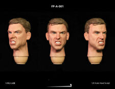 "1/6th FacepoolFigure  FP-A-001 Head Carving w/ Expression F 12"" Figure Body"