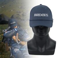 Death Stranding Cosplay Hat Sam Blue Bridges Embroidery Baseball Cap Adjustable