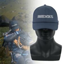 Death Stranding Cosplay Hat Sam Blue Bridges Embroidery Baseball Cap Adjustable