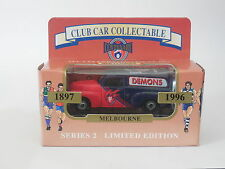 MATCHBOX 1/64  AFL CENTENARY CLUB CAR COLLECTABLE  MELBOURNE DEMONS FJ HOLDEN