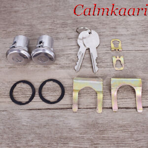 Door Lock Cylinder Set with 2 Keys for Buick Chevy Pontiac Oldsmobile US