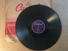 Peggy Lee - 78rpm single 10-inch – Capitol #15022 Manana / All Dressed Up