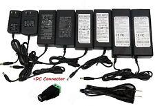 Ac 110v To Dc 12v 1235810a Power Supply Adapter For Led Strip Cctv Camera