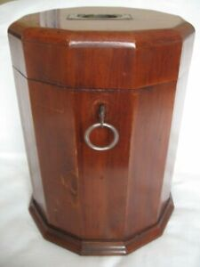 Unique Exquisite Antique 12 sided Table Box Church Chalice Holder