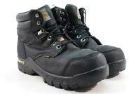 "Carhartt 6"" Leather Flex CTCP Men's Black Work Boots Wide UK 7.5/ EU 41/ 2991"