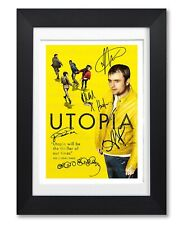 UTOPIA CAST SIGNED POSTER CHANNEL 4 TV SHOW SERIES PRINT PHOTO AUTOGRAPH GIFT
