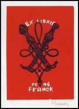 Mercier Jocelyn 1960 Exlibris X3 Bookplate 27