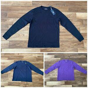 NEW WITH TAGS Mens Vineyard Vines Long Sleeve Pocket T-Shirt Size S L XXL Shirt