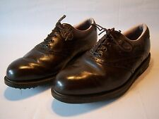 Foot Joy Fit Dogs Casual Golfing Cleat Shoes Men's Size 10W
