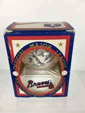 1992 Official Major League Reproduced Autographed Baseball Atlanta Braves MLB