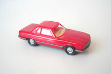VOITURE MERCEDES BENZ 350 SL ROUGE - WIKING - ECHELLE HO