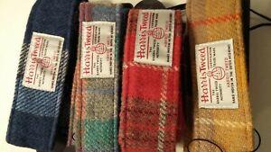 Harris Tweed Guitar straps- various colours Free Postage