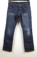 Miss Sixty Collection Jeans size 31 X 32 Womens Dark Blue Distressed