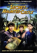 NEW DVD - THE SECRET OF HAUNTED CASTLE  - THE THREE INVESTIGATORS ( MULAN )