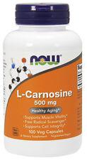 NOW Foods L-Carnosine, 100 Vegetable Capsule