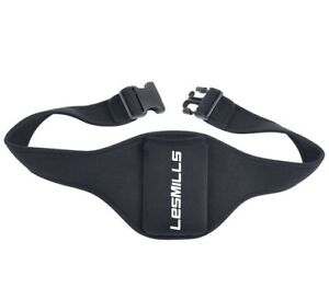 LM Aerobic Microphone Fitness Pouch Belt - Black.