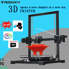 TRONXY X3A Auto leveling Upgradest High Precision Reprap Prusa i3 3D Printer DIY
