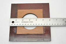 "Wood Lens Board 6""x6"" Copal #3 opening"