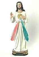 "12"" DIVINE MERCY JESUS FIGURINE STATUE RELIGIOUS DECORATION CATHOLIC GIFTS"