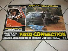 FOTOBUSTA,PIZZA CONNECTION MICHELE PLACIDO D.DAMIANI,AUTO CAR, POLIZIA