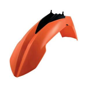 Acerbis Orange Front Fender For KTM 125-450 08-12 SX XC EXC 2082010237