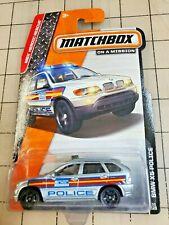 Matchbox BMW X5 Police Police Silver MBX Heroic Rescue 90/120