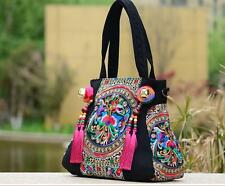 e79d04db38 Florals Embroidered Women Handbag Purse Shoulder Bag Tote Big Hobo Messenger
