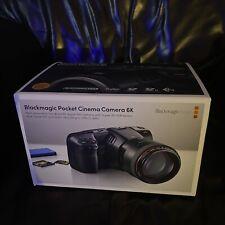Blackmagic Design Pocket Cinema Camera 6K in box brand new