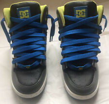 DC Shoe Co Skateboard, Size 6 Youth Rebound High Top Sneakers Rare Colorway