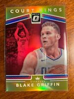 2017-18 PANINI OPTIC BLAKE GRIFFIN # 7/10 GOLD PRIZM COURT KINGS SSP Clippers