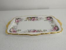 More details for vintage royal albert autumn roses tray/platter 1981 bone china 2nd quality f13