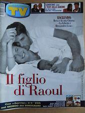 TV Sorrisi e Canzoni n°8 2000 Alessia Marcuzzi - Testi canzoni Sanremo 2000[C97]