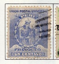 Peru 1895-1902 Early Issue Fine Used 1c. 182256