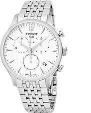 Tissot Men's Tradition Stainless Steel Chrono Automatic Watch T0636171103700