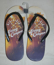 NEW Happy Camper Ladies Womens Flip Flop Sandals Shoes Size 9