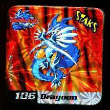 STAKS STAKS AIMANT MAGNET BEYBLADE N° 106 DRAGOON HOLO