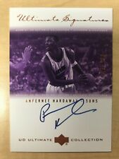 2000-01 UD Ultimate Collection Signatures AH-B Anfernee Hardaway Auto /200 Suns