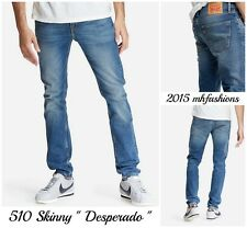 "Levi Mens 510 Skinny Fit Low Rise Stretch Jean, Color "" Desperado "" Size 33 x 34"
