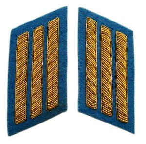 Infantry Captains Collar Insignias in pair, American Civil War, New